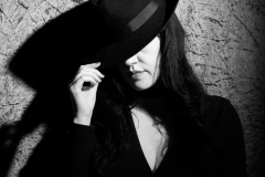 Mysterious lady in hat